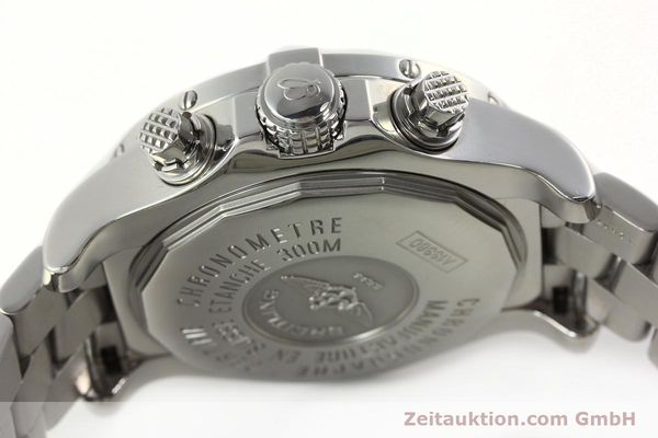 Used luxury watch Breitling Avenger chronograph steel automatic Kal. B13 ETA 7750 Ref. A13380  | 142345 11