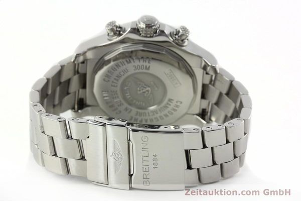 Used luxury watch Breitling Avenger chronograph steel automatic Kal. B13 ETA 7750 Ref. A13380  | 142345 12