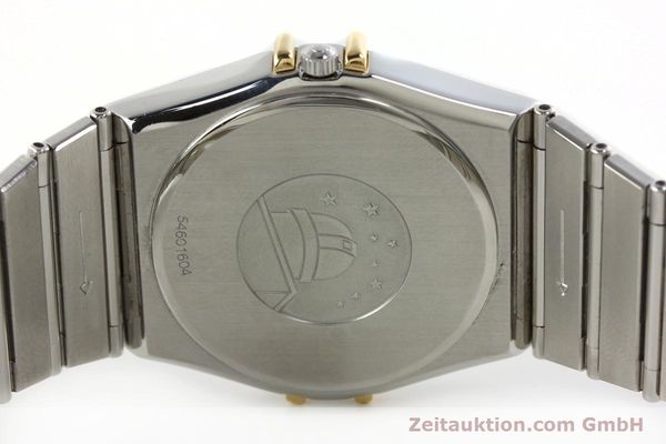 Used luxury watch Omega Constellation steel / gold quartz Kal. 1438 ETA 255461  | 142346 09