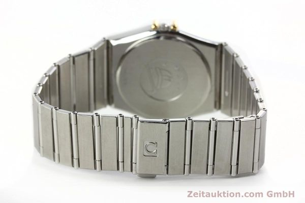 Used luxury watch Omega Constellation steel / gold quartz Kal. 1438 ETA 255461  | 142346 10