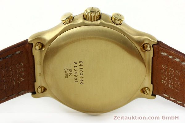 Used luxury watch Ebel 1911 chronograph 18 ct gold automatic Kal. 134 400 Ref. 8134901  | 142347 08