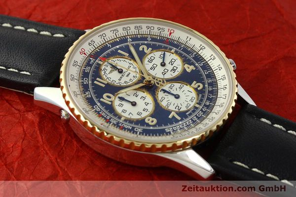 Used luxury watch Breitling Navitimer chronograph steel / gold automatic Kal. B33 ETA 2892-2 Ref. D33030  | 142348 13