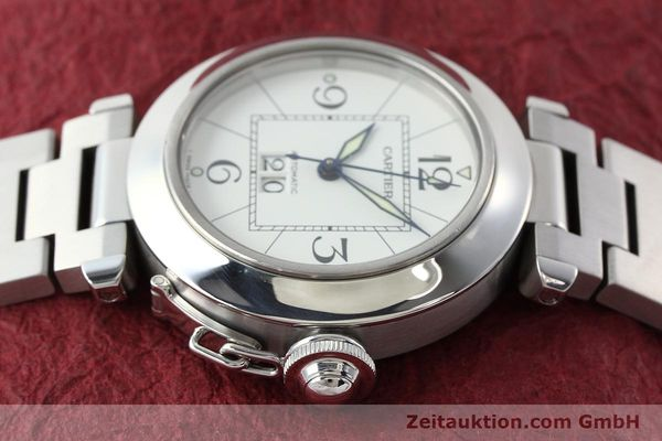 Used luxury watch Cartier Pasha steel automatic Kal. 052 ETA 2892A2  | 142349 05