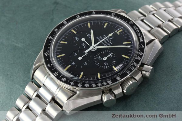 Used luxury watch Omega Speedmaster chronograph steel manual winding Kal. 861 Ref. ST. 145.0022  | 142353 01