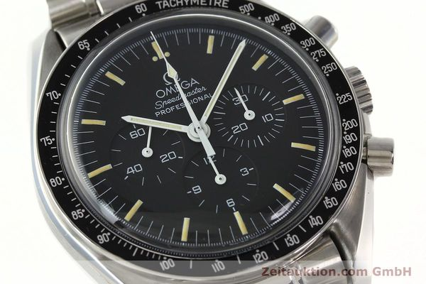 Used luxury watch Omega Speedmaster chronograph steel manual winding Kal. 861 Ref. ST. 145.0022  | 142353 02