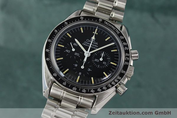 Used luxury watch Omega Speedmaster chronograph steel manual winding Kal. 861 Ref. ST. 145.0022  | 142353 04