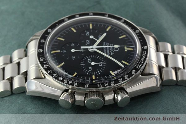 Used luxury watch Omega Speedmaster chronograph steel manual winding Kal. 861 Ref. ST. 145.0022  | 142353 05