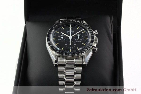 Used luxury watch Omega Speedmaster chronograph steel manual winding Kal. 861 Ref. ST. 145.0022  | 142353 07