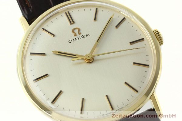 Used luxury watch Omega * 14 ct yellow gold manual winding Kal. 601  | 142354 02