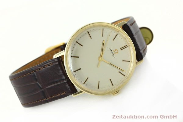 Used luxury watch Omega * 14 ct yellow gold manual winding Kal. 601  | 142354 03