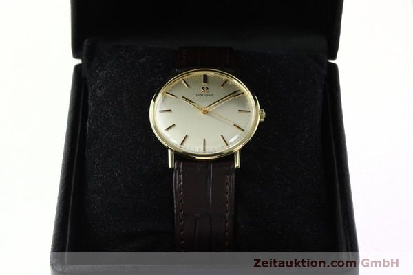 Used luxury watch Omega * 14 ct yellow gold manual winding Kal. 601  | 142354 07