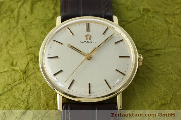 Used luxury watch Omega * 14 ct yellow gold manual winding Kal. 601  | 142354 14