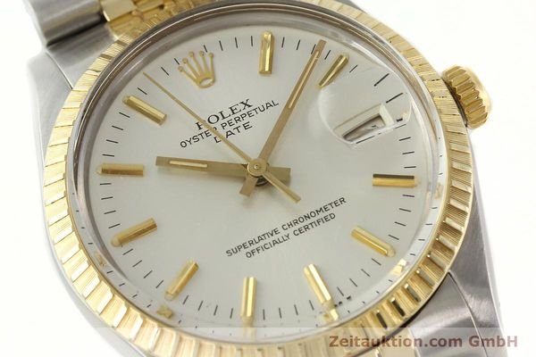 Used luxury watch Rolex Date steel / gold automatic Kal. 3035 Ref. 15053  | 142357 02