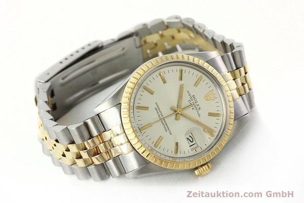 Used luxury watch Rolex Date steel / gold automatic Kal. 3035 Ref. 15053  | 142357 03