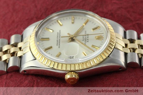 Used luxury watch Rolex Date steel / gold automatic Kal. 3035 Ref. 15053  | 142357 05