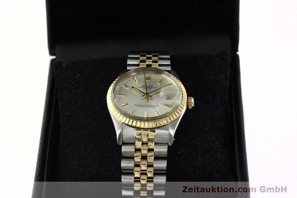 Used luxury watch Rolex Date steel / gold automatic Kal. 3035 Ref. 15053  | 142357 07