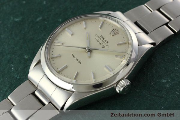 Used luxury watch Rolex Precision steel automatic Kal. 1520 Ref. 5500  | 142358 01