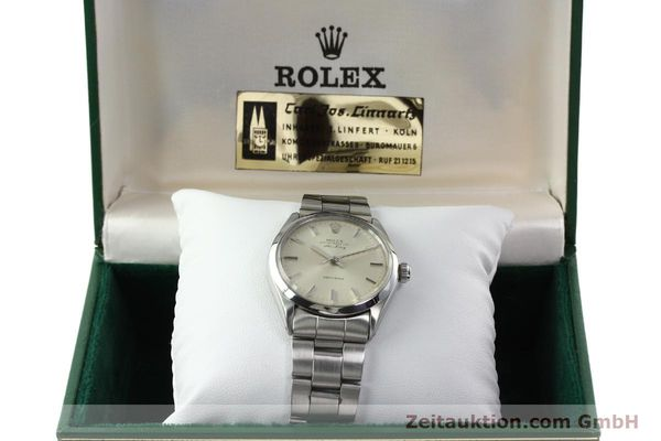 Used luxury watch Rolex Precision steel automatic Kal. 1520 Ref. 5500  | 142358 07