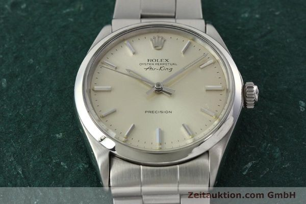 Used luxury watch Rolex Precision steel automatic Kal. 1520 Ref. 5500  | 142358 16