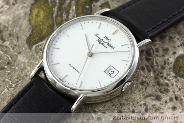 Used luxury watch IWC Portofino steel automatic Kal. 37521 Ref. 35131  | 142360 01
