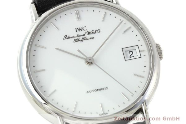 Used luxury watch IWC Portofino steel automatic Kal. 37521 Ref. 35131  | 142360 02