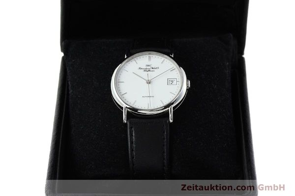 Used luxury watch IWC Portofino steel automatic Kal. 37521 Ref. 35131  | 142360 07