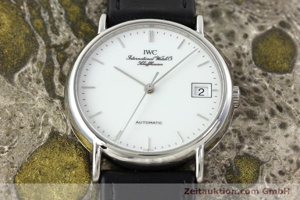 Used luxury watch IWC Portofino steel automatic Kal. 37521 Ref. 35131  | 142360 17
