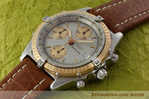Used luxury watch Breitling Chronomat chronograph steel / gold automatic Kal. VAL 7750 Ref. 81950  | 142361 01