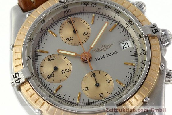 Used luxury watch Breitling Chronomat chronograph steel / gold automatic Kal. VAL 7750 Ref. 81950  | 142361 02