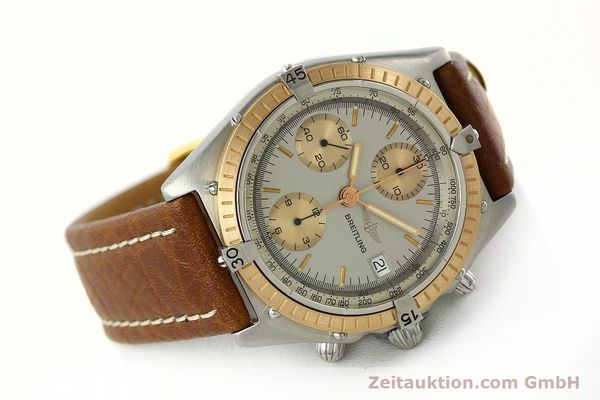 Used luxury watch Breitling Chronomat chronograph steel / gold automatic Kal. VAL 7750 Ref. 81950  | 142361 03