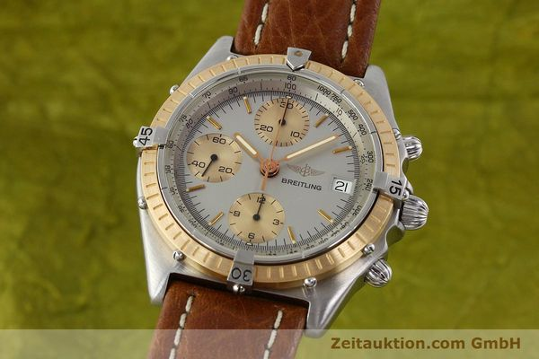 Used luxury watch Breitling Chronomat chronograph steel / gold automatic Kal. VAL 7750 Ref. 81950  | 142361 04