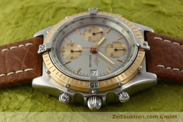 Used luxury watch Breitling Chronomat chronograph steel / gold automatic Kal. VAL 7750 Ref. 81950  | 142361 05
