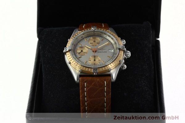 Used luxury watch Breitling Chronomat chronograph steel / gold automatic Kal. VAL 7750 Ref. 81950  | 142361 07