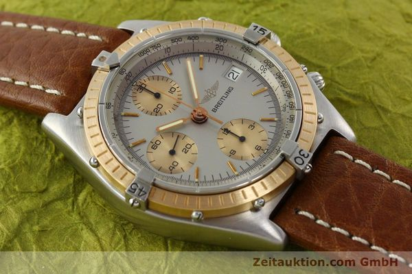 Used luxury watch Breitling Chronomat chronograph steel / gold automatic Kal. VAL 7750 Ref. 81950  | 142361 13