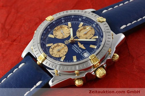 Used luxury watch Breitling Chronomat chronograph steel / gold automatic Kal. B13 ETA 7750 Ref. B13352  | 142363 01