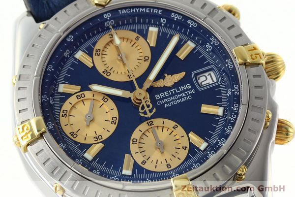 Used luxury watch Breitling Chronomat chronograph steel / gold automatic Kal. B13 ETA 7750 Ref. B13352  | 142363 02