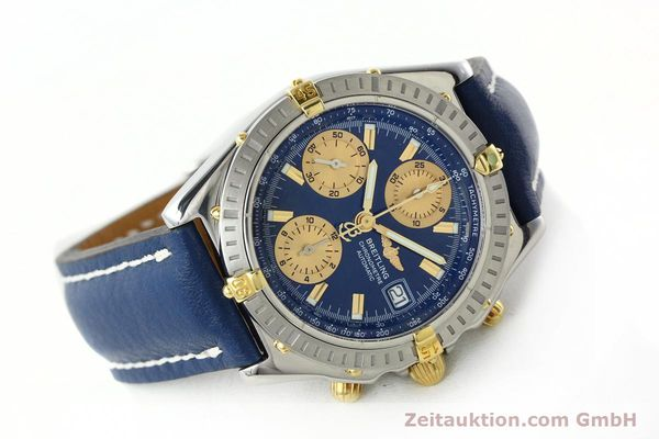 Used luxury watch Breitling Chronomat chronograph steel / gold automatic Kal. B13 ETA 7750 Ref. B13352  | 142363 03