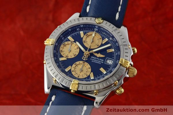 Used luxury watch Breitling Chronomat chronograph steel / gold automatic Kal. B13 ETA 7750 Ref. B13352  | 142363 04