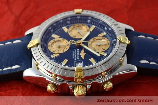 Used luxury watch Breitling Chronomat chronograph steel / gold automatic Kal. B13 ETA 7750 Ref. B13352  | 142363 05