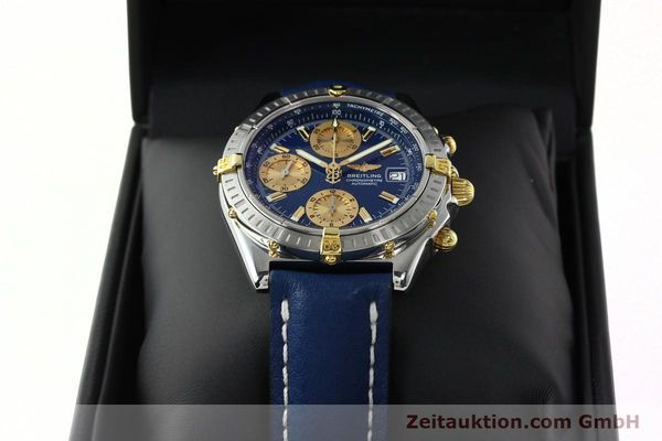 Used luxury watch Breitling Chronomat chronograph steel / gold automatic Kal. B13 ETA 7750 Ref. B13352  | 142363 07