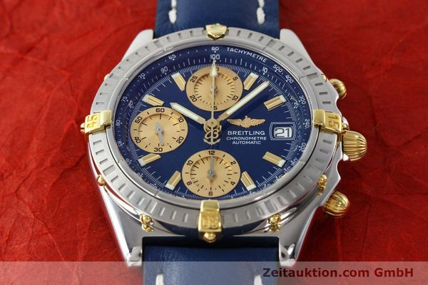 Used luxury watch Breitling Chronomat chronograph steel / gold automatic Kal. B13 ETA 7750 Ref. B13352  | 142363 16
