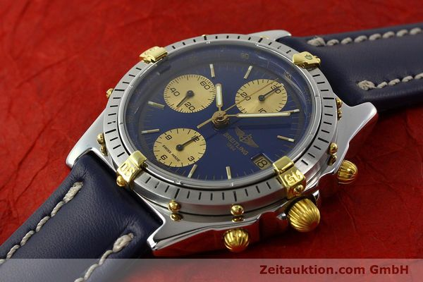 Used luxury watch Breitling Chronomat chronograph steel / gold automatic Kal. B13 VAL 7750 Ref. 81950B13047  | 142364 01