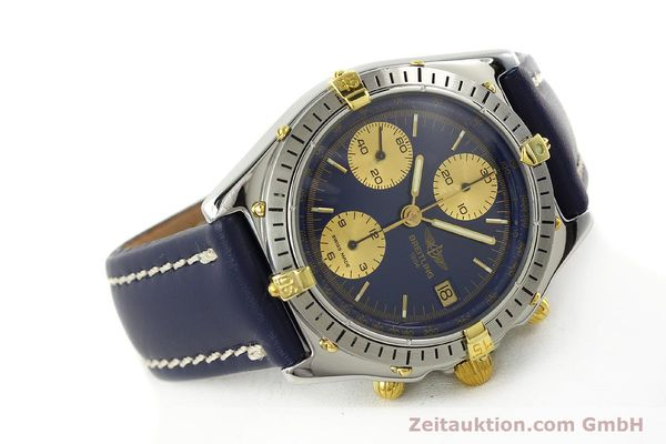 Used luxury watch Breitling Chronomat chronograph steel / gold automatic Kal. B13 VAL 7750 Ref. 81950B13047  | 142364 03