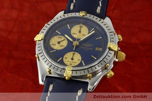 Used luxury watch Breitling Chronomat chronograph steel / gold automatic Kal. B13 VAL 7750 Ref. 81950B13047  | 142364 04
