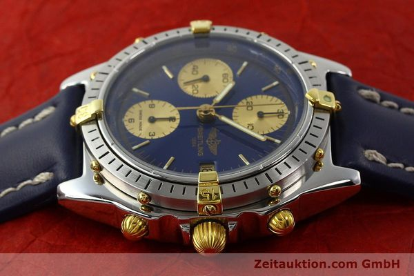 Used luxury watch Breitling Chronomat chronograph steel / gold automatic Kal. B13 VAL 7750 Ref. 81950B13047  | 142364 05