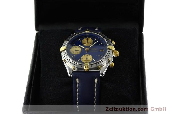 Used luxury watch Breitling Chronomat chronograph steel / gold automatic Kal. B13 VAL 7750 Ref. 81950B13047  | 142364 07