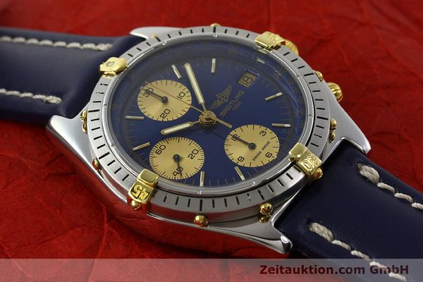 Used luxury watch Breitling Chronomat chronograph steel / gold automatic Kal. B13 VAL 7750 Ref. 81950B13047  | 142364 13