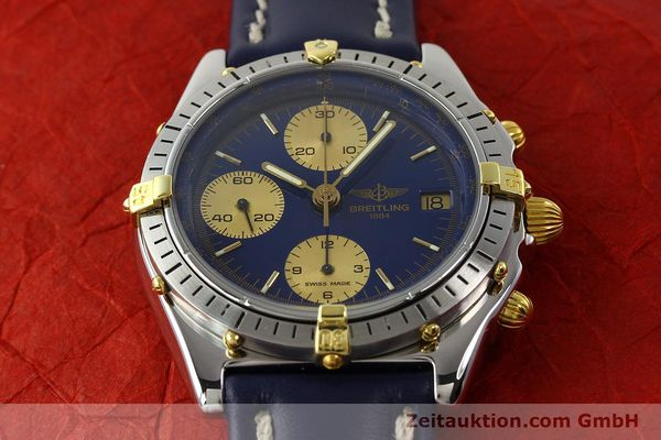 Used luxury watch Breitling Chronomat chronograph steel / gold automatic Kal. B13 VAL 7750 Ref. 81950B13047  | 142364 14