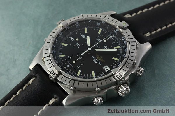 Used luxury watch Breitling Chronomat chronograph steel automatic Kal. VAL 7750 Ref. 81950  | 142365 01