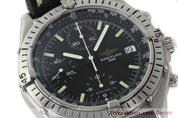 Used luxury watch Breitling Chronomat chronograph steel automatic Kal. VAL 7750 Ref. 81950  | 142365 02